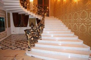Лестницы из натурального камня, ступени любой сложности